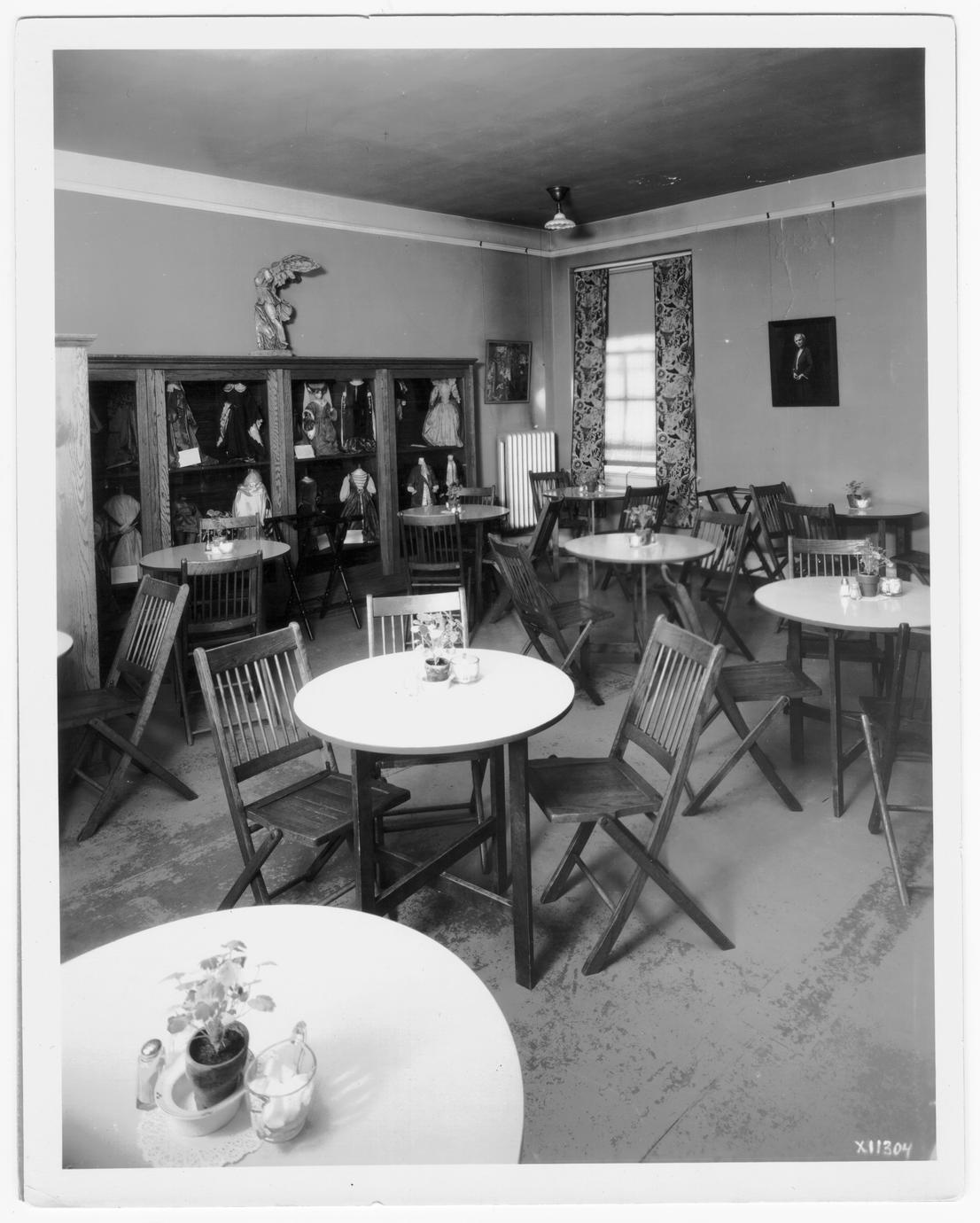 Home economics lunch room