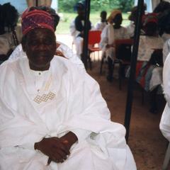 Ifaturoti wedding guest