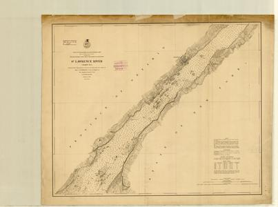 St. Lawrence River chart no. 4