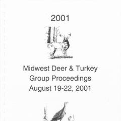 [Proceedings of the Midwest Deer and Turkey Study Group Annual Meeting, 2001]