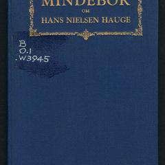 Mindebok om Hans Nielsen Hauge