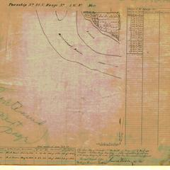[Public Land Survey System map: Wisconsin Township 10 North, Range 07 West]