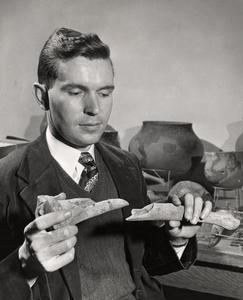 George Holcomb, anthropology