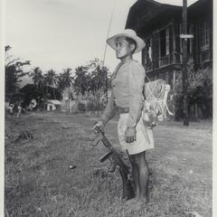 Filipino guerrilla, 1945