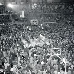 Wisconsin vs. Michigan State boxing match