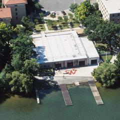 Boat House and Adams Hall