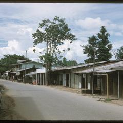Street outside compound