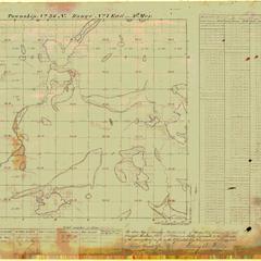 [Public Land Survey System map: Wisconsin Township 36 North, Range 07 East]