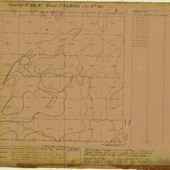 [Public Land Survey System map: Wisconsin Township 40 North, Range 13 East]