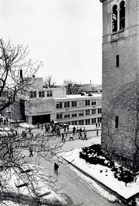 Commerce building exterior
