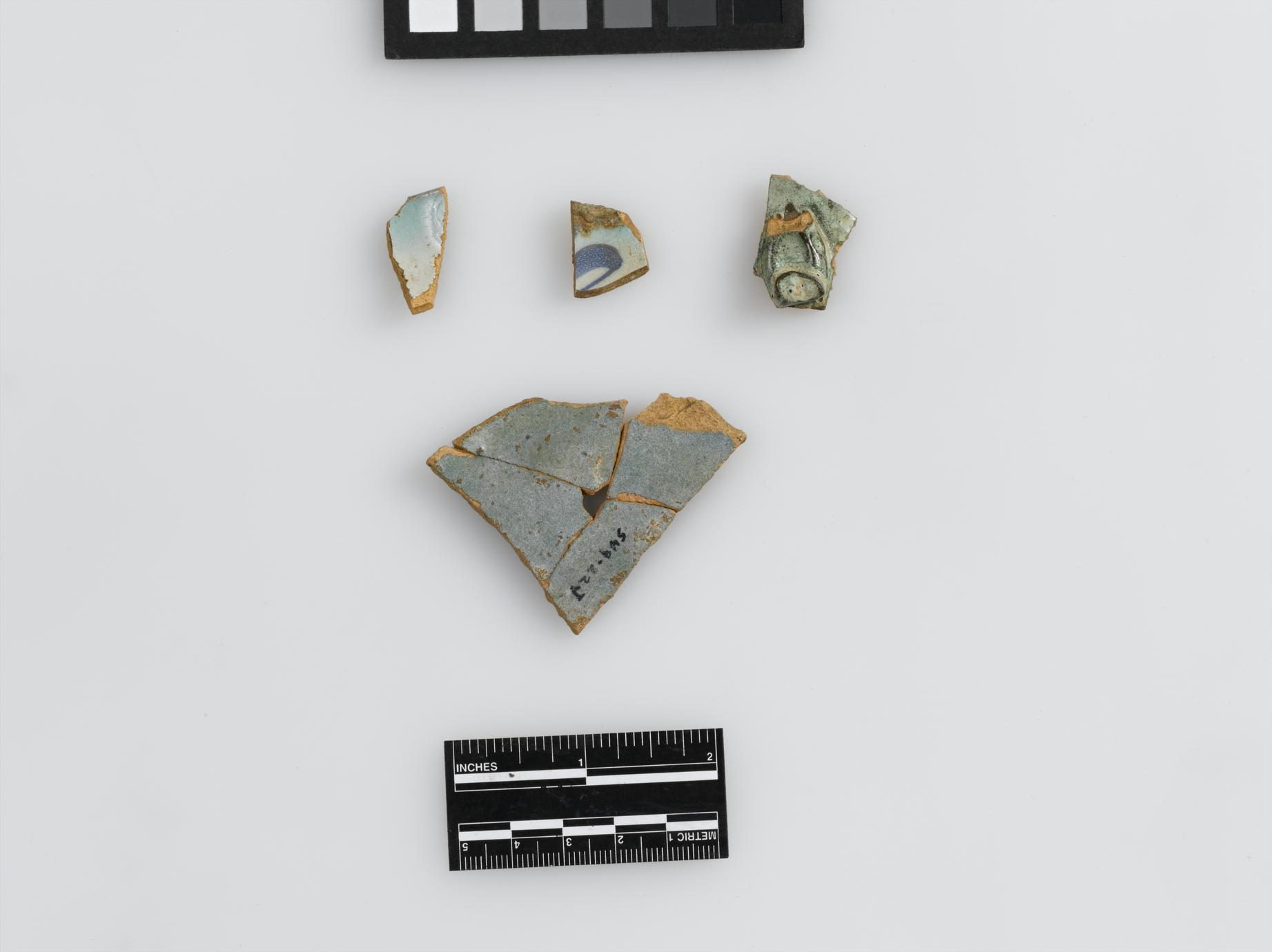 Faience sherds