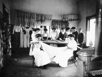 Dress-making class