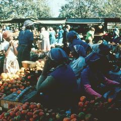 Open Market in Loranco Marques