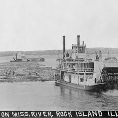 North Star (Towboat/Rafter, 1906-1917?)