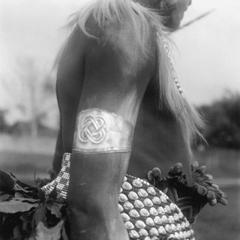 Close-Up View of Titleholder's Body and Decorations at Dance