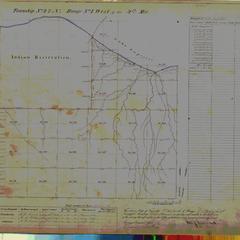 [Public Land Survey System map: Wisconsin Township 47 North, Range 01 West]