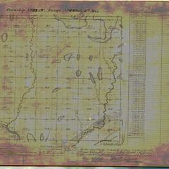 [Public Land Survey System map: Wisconsin Township 33 North, Range 06 West]