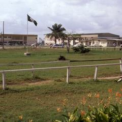 Flag post at Lagos State University