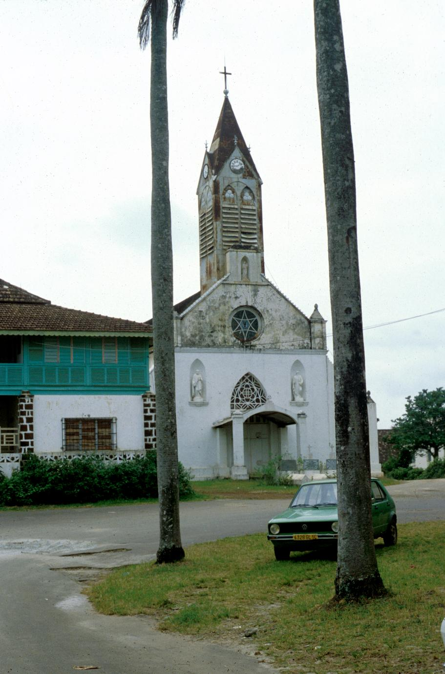 Oldest Catholic Church in Libreville