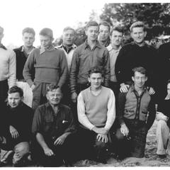 Researchers at Trout Lake in 1935