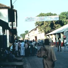 Street Scene in Zuiginchor, the Capital of Casamance, in Southern Senegal
