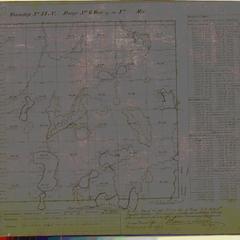 [Public Land Survey System map: Wisconsin Township 44 North, Range 06 West]