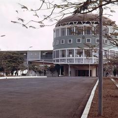 The Congress Building in Monrovia
