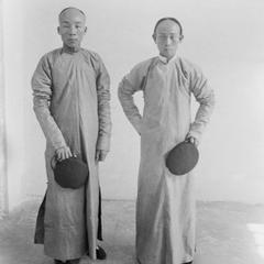 Local druggist and Doctor Taam Nai Won, Doctor William Hervie  Dobson's assistant..