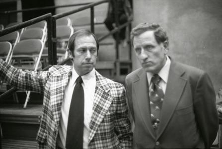 Bob Johnson and Jeff Sauer
