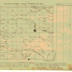 [Public Land Survey System map: Wisconsin Township 21 North, Range 03 West]