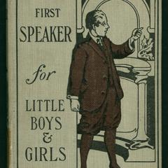Tommy's first-speaker for little boys and girls