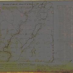 [Public Land Survey System map: Wisconsin Township 38 North, Range 03 West]