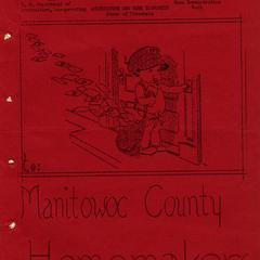 Manitowoc County homemakers newsletter