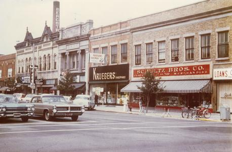 North Side of Wisconsin Avenue in the 1960's