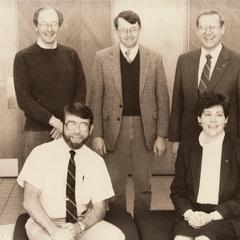 Members of the science faculty, Manitowoc, February 1987
