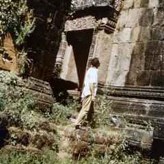 Wat Phou Khmer temple ruins in Champasak Province