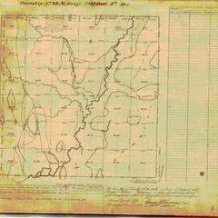 [Public Land Survey System map: Wisconsin Township 23 North, Range 15 East]