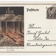 Deutschland, Deutschland über alles! 30.1.1933