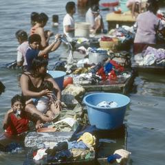 Washer women, San Carlos on Lago Nicaragua