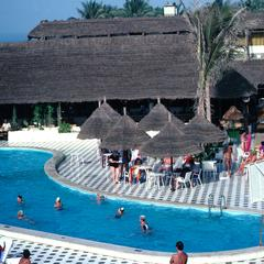 The Pool and Resort Area for the Kombo Beach Novotel Banjul Hotel
