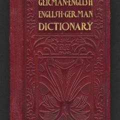 Hill's German-English and English-German vest-pocket dictionary, with conversations and idioms
