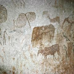 Cave Painting at Lake McIlwaine