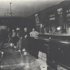 Interior of Four Corners Tavern, New Glarus
