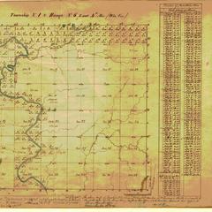 [Public Land Survey System map: Wisconsin Township 01 North, Range 06 East]
