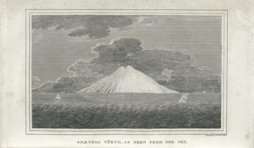 Snæfell Yökull, as seen from the sea.