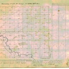 [Public Land Survey System map: Wisconsin Township 27 North, Range 07 West]