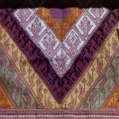 Woven textile from Sam Neua in Houaphan Province
