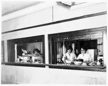 Lathrop Hall cafeteria