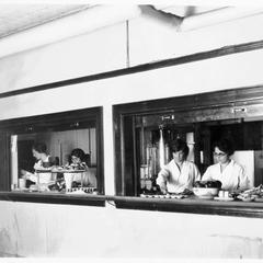 Lathrop Hall cafeteria