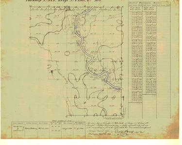 [Public Land Survey System map: Wisconsin Township 24 North, Range 07 East]